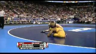 NCAA Wrestling National Championships Division 1 Anthony Robles Vs. Matt McDonough (Full Match)