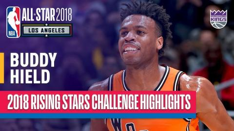 Buddy Hield Leads Team World, 29 Points in 2018 Rising Stars | Presented by Mtn Dew Kickstart