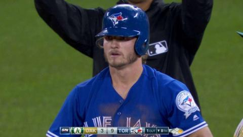 OAK@TOR: Donaldson extends lead with RBI single