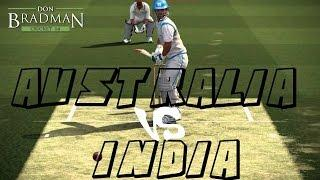 Don Bradman Cricket 14 PS4 1080P 60FPS Gameplay | Australia Vs India | Online