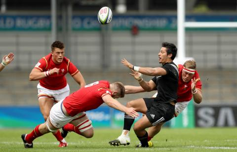 Great tackles from the World Rugby U20 Championship!