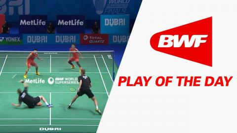 Play Of The Day | Badminton SF2 - Dubai World Superseries Finals 2016