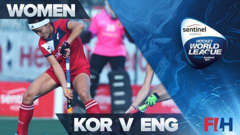 Korea v England Highlights - Sentinel Homes Hockey World League Final - Auckland, New Zealand