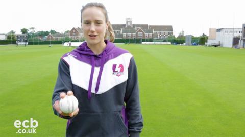 Loughborough Lightning's Ellyse Perry Twenty20 bowling tips