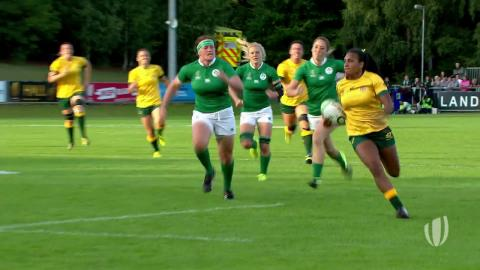 Murphy shows epic pace for Australia at WRWC