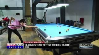 Indonesian Billiards Team Eyes Two Gold Medals In Southeast Asia Games
