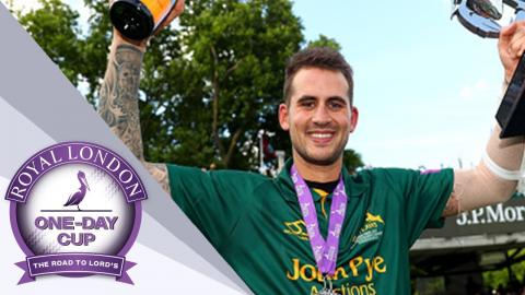 Record Breaking Hales Wins Cup For Notts Against Surrey - Royal London One-Day Final 2017