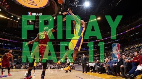 NBA Daily Show: Mar. 11 - The Starters