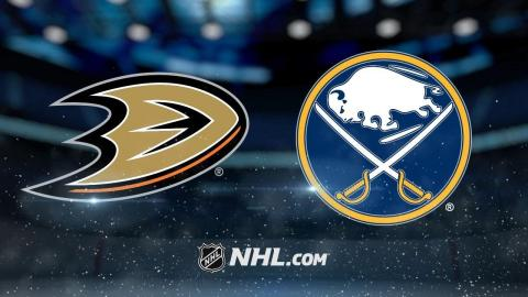 Henrique scores in OT as Ducks edge Sabres, 4-3