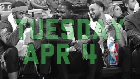 NBA Daily Show: Apr. 4 - The Starters