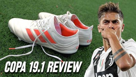premium selection 0ccbd d7732 Paulo Dybala adidas Copa 19.1 Boots - Test  Review (2018)