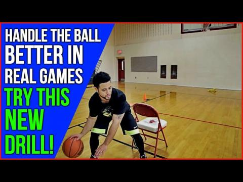 How To: Dribble A Basketball Better In Real Games! TRY THIS DRILL!