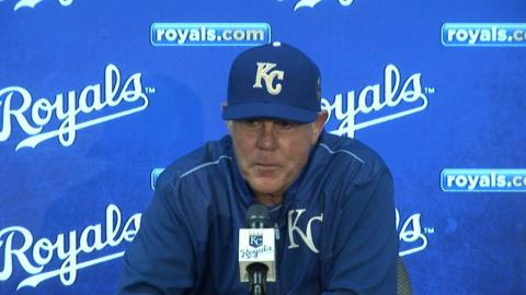 MIN@KC: Royals Manager Ned Yost Reflects on Win