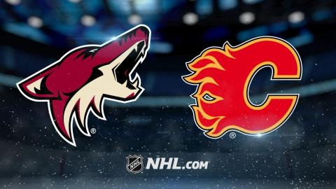 Smith, Jankowski lead Flames past Coyotes, 3-0