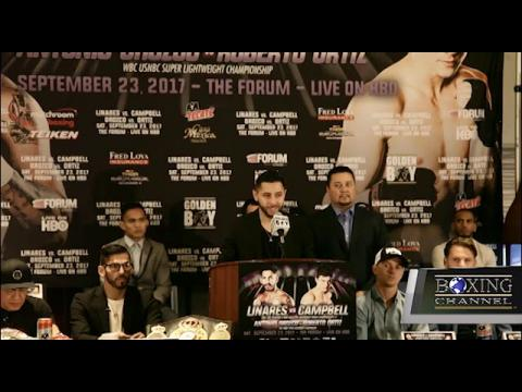 LINARES VS CAMPBELL PRESS CONFERENCE HIGHLIGHTS