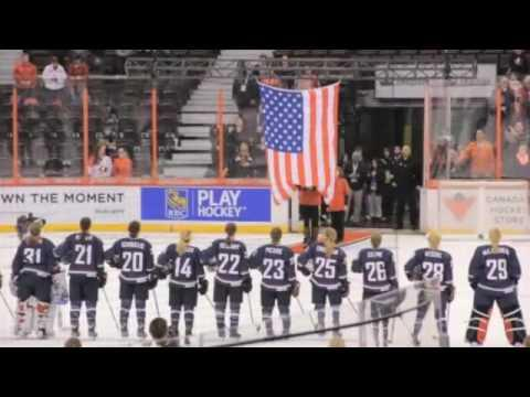 Team USA Promo Intro with Kacey Bellamy