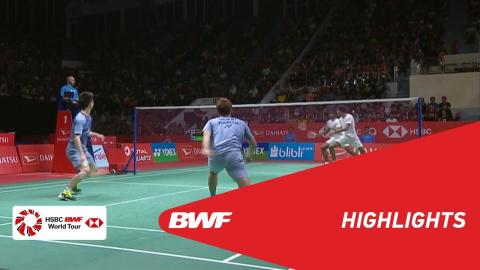 DAIHATSU Indonesia Masters 2018 | Badminton MD - SF - Highlights | BWF 2018