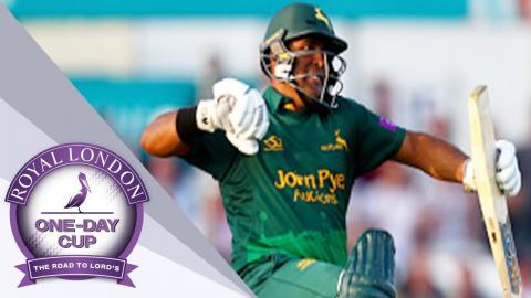 Record Breaking Match As Notts Chase Down 370 To Beat Essex - Royal London One-Day Cup SF 2017