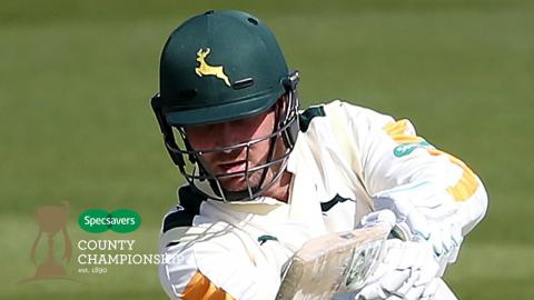 Taylor makes Notts history in Durham draw - Nottinghamshire v Durham, Day 4