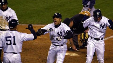 2000 ALCS Gm6: Justice's clutch three-run home run