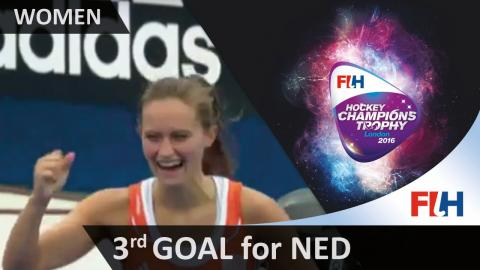 NED 3-2 NZL Jonker deflects in van Male's shot from close range #HCT2016