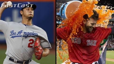 8/4/17: MLB.com FastCast: Darvish, Moreland star