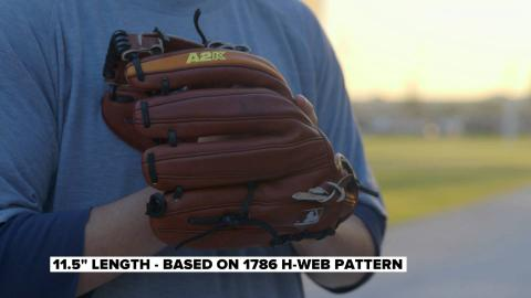 Dustin Pedroia and the new A2K DP15 GM Glove