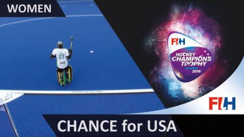 AUS 1-0 USA The Americans are pulling themselves back into this match as Lynch has be on her guard
