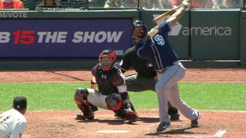 SD@SF: Kemp hits a two-run homer to center field
