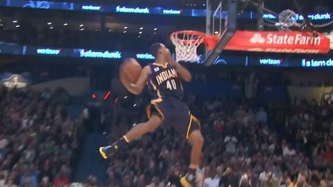 Glenn Robinson III 360 Dee Brown Windmill (2nd Dunk) | 02.18.17