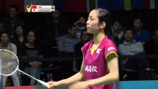 2015 SKYCITY New Zealand Open Final [HD] [WS] HE Bing Jiao Vs Saena KAWAKAMI