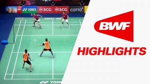 SCG Thailand Open 2017 | Badminton F – Highlights