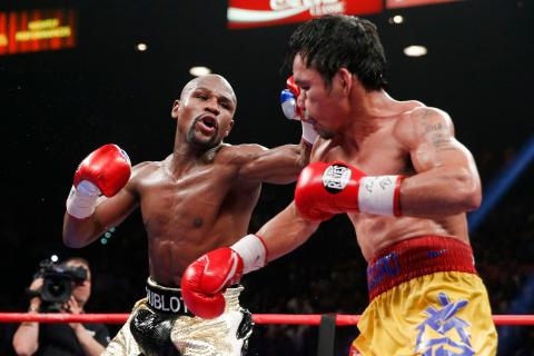 Mayweather beats Pacquiao, Post Fight Presser, Floyd says he will relinquish his belts Monday.