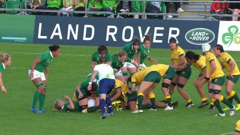 HIGHLIGHTS: Ireland narrowly beat Australia at Women's Rugby World Cup
