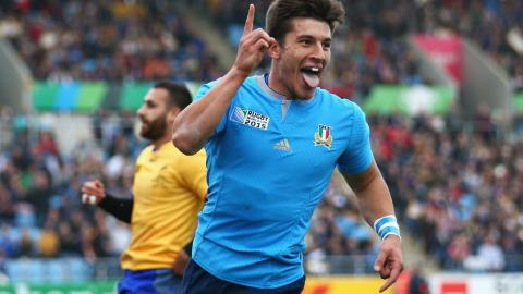 Tommaso Allan's Italian magic v Romania