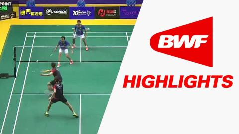 2015 Macau Open | Badminton F – Highlights