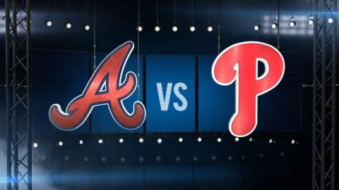 8/1/15: Phils' bats too much for Braves in 12-2 win
