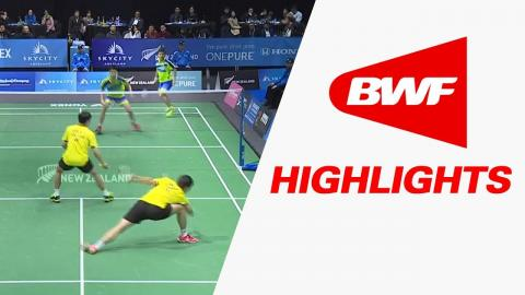 SKYCITY New Zealand Open 2017 | Badminton F – Highlights