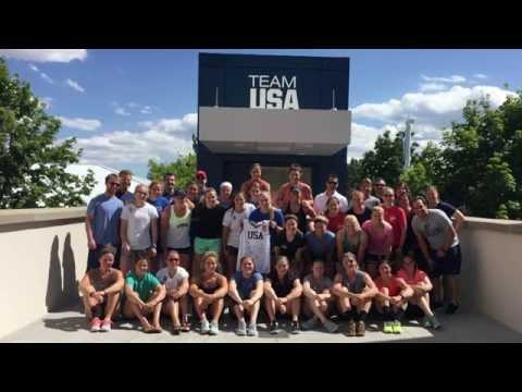 Behind-the-Scenes of the US Women's National Team's Off-Ice Camp