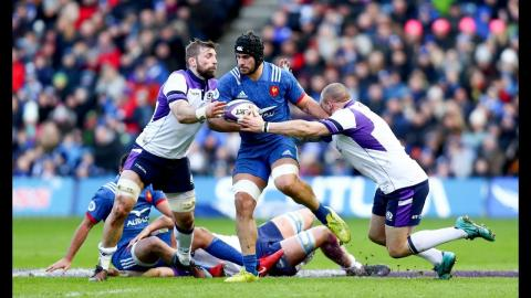 Fantastic Scottish defence wins ends with a key turnover! | NatWest 6 Nations