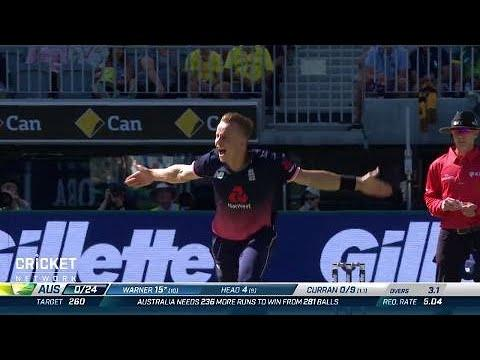 Fifth ODI: Australia v England
