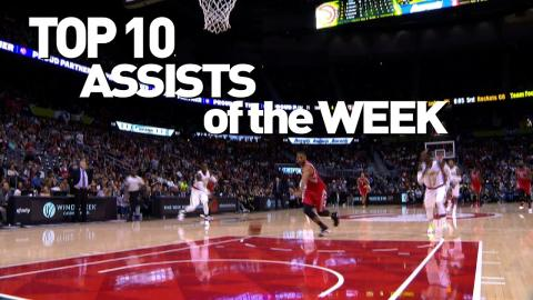 Top 10 State Farm Assists of the Week: 10.29.16 – 11.06.16