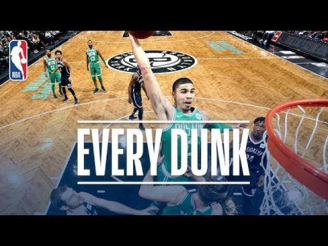 Jayson Tatum, Tarik Black, Taj Gibson and Every Dunk From Saturday Night | Jan. 6, 2018