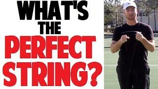 Picking A Tennis Racquet | String Material & Tension (Part 4 Of 4)