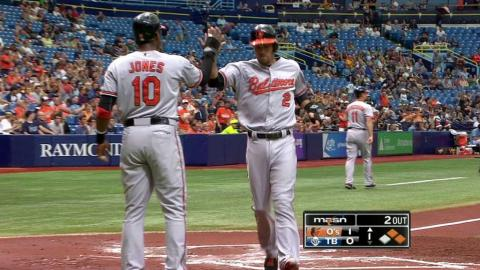 BAL@TB: Reimold smacks a two-run double in the 1st