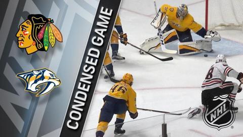 11/28/17 Condensed Game: Blackhawks @ Predators