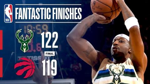 The Bucks and Raptors Engage in a Nail-Biting OT Finish in Toronto   February 23, 2018