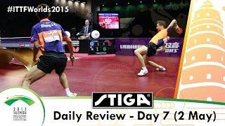 2015 World Table Tennis Championships Day 7 Daily Review Presented By Stiga