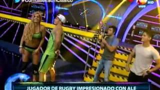 COMBATE: Alejandra Baigorria Cautivó Con Su Belleza A Jugador De Rugby