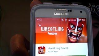 WWE Wrestling Community App: Wrestling Amino. Follow Me Seanzviewent On Youtube